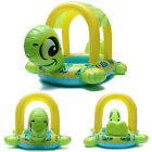Safe Tortoise Shape Kids Baby Inflatable Pool Float Seat Boat Water Swim Ring