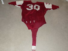 Temple Owls Game Worn Football Jersey 1960s Dureen #30