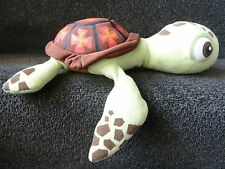 "Disney Pixar Squirt the Turtle soft toy Finding Nemo Film Toy approx 14"" long"