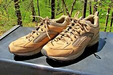 Easy Spirit Fastpacet Suede And Mesh Shoes Size 8 N Tan Free Shipping