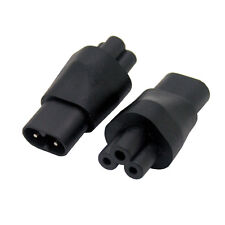IEC 320 C5 to C8 adapter, IEC 320 C8 to C5 power adapter