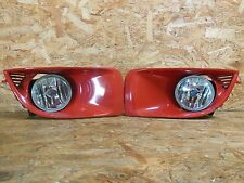 2000 2007 JDM SUBARU IMPREZA WRX STI GG GD KOUKI FOG LIGHT SET WITH FRAME OEM