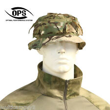 OPS / UR-TACTICAL, REVERSIBLE GHILLIE BOONIE HAT IN CRYE MULTICAM