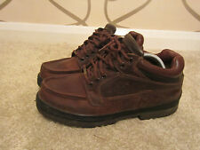mens vintage timberland gore-tex leather shoes size uk 9