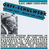 Orff-Schulwerk, Vol. 2 / Musik für Kinder, Carl Orff, Good