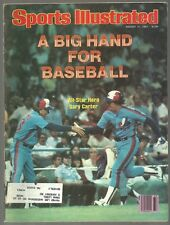 1981 Sports Illustrated Montreal Expos Kansas City Royals George Brett Redskins