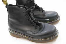 Womens Dr Martens Classic 6i Black Leather Boots 7 M UK5 Eur 38 Made in England