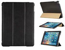 FUTLEX Genuine Leather Smart Cover Case for iPad Air 2 - Black - Handmade