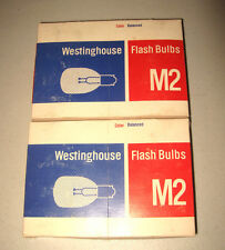 24 Unused Westinghouse COLOR BALANCED M2 Flashbulbs IN Original Boxes