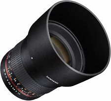 SAMYANG 85MM 1.4 FOR NIKON DF D4 D800 D610 D600 D300S D7100 D7000 D5300 D5200 85