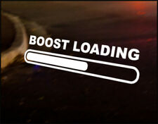 BOOST LOADING Car Sticker Graphic Decal VW DUB VAG Euro Japan Drift Funny