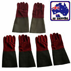 1 Pair High Temperature Welding Wear-resisting Labor Leather Gloves TGLOV4265