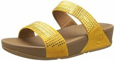 NEW FitFlop Aztec Chada Slide Slide Sandal,Sunflower, US 9, UK 7, EUR 41