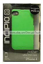 INCIPIO Ultra Thin FEATHER Snap-On Case FOR iPHONE 4/4S w/Screen Protector GREEN