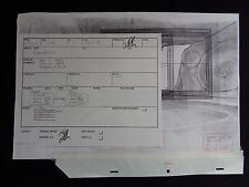 Quest For Camelot Background Master rough Art Warner Brothers Davy Liu Copy C