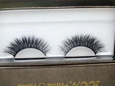 Tridimensional 3D 100% Real Mink False eyelashes Cross Winged Eye Lashes 1Pair