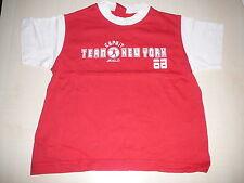 Esprit tolles T-Shirt Gr. 92 / 98 rot-weiß !!