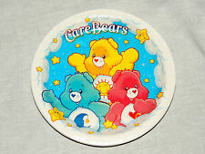"NEW CARE BEARS   8-PAPER LUNCH PLATES 9""DIA.  PARTY SUPPLIES"