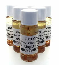 Cats claw Herbal Magickal Anointing 10ml Oil Chronic Fatigue Depression