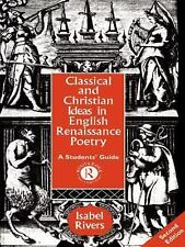 Classical and Christian Ideas in English Renaissance Poetry-ExLibrary