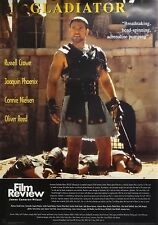 Gladiator 24x34 Film Review Movie Poster 2001