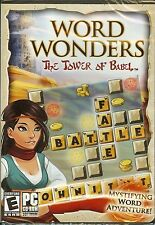 WORD WONDERS: The Tower of Babel CD-ROM for Windows 7/Vista/XP Christmas Gift