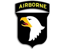 3x4 inch 101st Airborne Screaming Eagles Sticker -ssi us military logo army 101