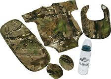 Camo Baby Combo! 5 pc Outfit for infants Rivers edge Camouflage 1542