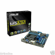 ASUS M5A78L-M-PLUS/U3 AM3+ AMD 760G /SB710 HDMI USB 3.0 uATX AMD Motherboard
