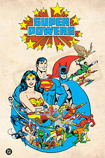 1988 Super Powers ENTIRE TEAM Model Art : Justice League