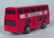 "Hot Wheels London Bus Daimler Fleetline Double Decker Bus 3"" Die Cast Standard L"