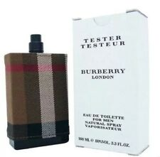 BURBERRY LONDON FABRIC 3.4 Oz Cologne For Men 3.4 oz Tester