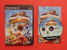 Power Rangers: Dino Thunder (Sony PlayStation 2, 2004) Complete, Very Good