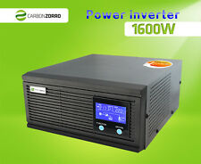 Inverter Charger 1600W (4800W) two way 12V/24V    230V Solar, Boat, Motorhome RV