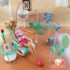 2017 New  Computer fashion doll Furniture  room for barbie doll