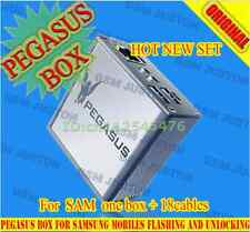 Pegasus Box - Unlock, Repair and Flash for Samsung Phones(with 18 pcs cables)