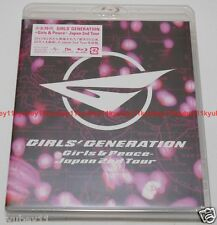 New SNSD GIRLS' GENERATION Girls & Peace Japan 2nd Tour Blu-ray Japan UPXH-20022