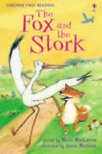 Early Readers Book - Usborne First Readers: THE FOX AND THE STORK Hardback - NEW