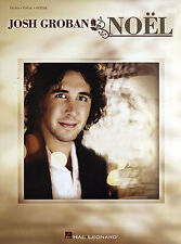 Josh Groban Noel Play Christmas Pop Songs Xmas PIANO Guitar PVG Music Book