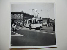 GER1632 - 1950s HANOVER TRAMWAYS - TRAM Route 8 PHOTO Germany