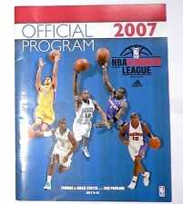 2007 NBA Summer League Official Program RODNEY CARNEY Philadalphia 76ers Signed