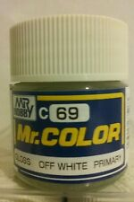 "Gunze Sangyo ""Mr. Color"" acrylic paint C-69 Off White 10ml."