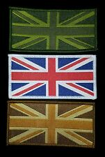 10 pack Union Jack Flag UK Army badge badges patches woven combat soldier ensign