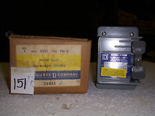 Square D 2510 FW-1 toggle starter *NEW* (#151)