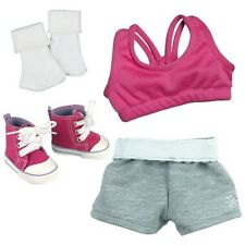 Doll Clothes Sports 4 Pc. Set Fit for American Girl Dolls - 18 Inch Doll Set