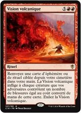 MTG Magic C16 - Volcanic Vision/Vision volcanique, French/VF