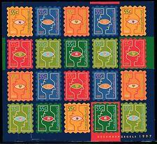 Nederland NVPH V1740/45 -  CHRISTMAS minisheet    1997 - **MNH