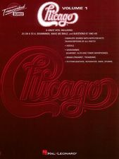 Chicago Transcribed Scores Volume 1 Sheet Music Transcribed Score NEW 000672367