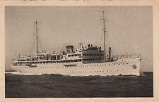 Postcard Ship Franceso Morosini Compagnia Adriatica di Navigazione Venezia