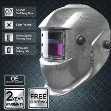 Careta Soldador Solar Powered auto oscurecimiento mascara soldadura Mig TIG 70